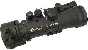 Dipol DN34 Pro rechteraanzicht. Te koop bij BoarControl.nl