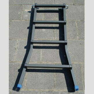 Aluminium verlengstuk opvouwbare Ladder